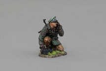 SS Officer with Field Telephone WWII, single figure