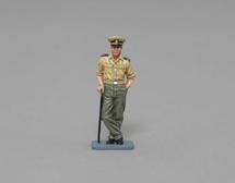 Lt. John F Kennedy (gray rectangular base), WWII single figure