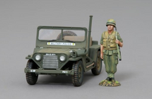 M151 Mutt Jeep in Military Police Markings (figure not included), WWII