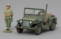 M151 'Mutt Jeep' in 82nd Airborne Markings, WWII