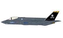 F-35C Lightning II JSF USN VF-103 Jolly Rogers, 2012, Antenna Testing Model