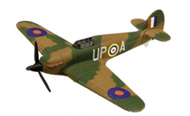 Hurricane Mk I RAF No.605 Sqn, Archie McKellar, RAF Croydon, England, October 1940 Corgi Collectors Showcase Display Model