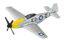 P-51D Mustang USAAF 361st FG, 375th FS Corgi Display Model