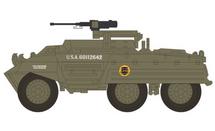 M20 Armored Utility Car US Army 807th Tank Destroyer Btn, Germany, 1945