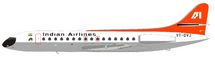 Indian Airlines Sud SE-210 Caravelle VI-N VT-DVJ With Stand