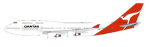 Qantas Boeing 747-400 VH-OEG With Stand