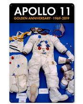Apollo 11 50th Anniversary EVA Spacesuit Space Suit Black Metal Sign Pasttime Signs