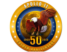 Apollo 11 50th Anniversary Golden Pasttime Signs