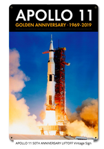 Apollo 11 50th Anniversary Liftoff Pasttime Signs