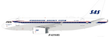 Scandinavian Airlines System SAS Airbus A319-131 OY-KBO With Stand