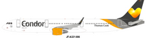 Condor Airbus A321-211 D-AIAI With Stand