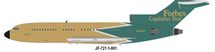 Forbes Capitalist Tool Boeing 727-27 N60FM With Stand