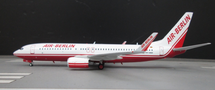 Air Berlin Boeing 737-86J D-ABBA With Stand (Limited 83pcs)