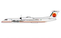 Alaska/Horizon Air Dash 8 Q400 N421QX (1981 retro livery) Gemini Jets Diecast Display Model