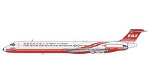 Far Eastern Air Transport MD-80 B-28025 Gemini Jets Diecast Display Model