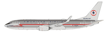 American Airlines Boeing 737-800 N905NN Polished With Stand