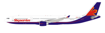 Skyservice Airlines Airbus A330-322 C-FBUS With Stand Limited 85pcs
