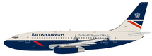 British Airways Boeing 737-200 G-BKYI The World's Biggest Offer With Stand