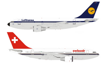 Lufthansa Swissair Airbus A310-221 F-WZLH With Stand