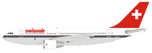 Swissair Airbus A310-221 HB-IPA With Stand
