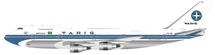 Varig Boeing 747-200 PP-VNC Polished With Stand, 100 MODELS MADE