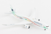 Aeromexico B787-9 XA-ADL Quetzalcoatl Livery Gemini Jets Diecast Display Model