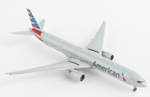 American B777-300ER N735AT Gemini Jets Diecast Display Model