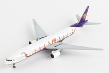 Thai B777-300 HS-TKF Suphannahong Royal Barge Livery Gemini Jets Diecast Display Model