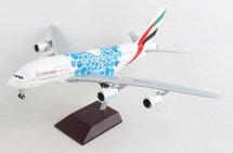 Emirates A380 A6-EOC (Blue Expo 2020 livery) Gemini 200 Diecast Display Model