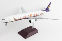 Thai B777-300 HS-TKF (Suphannahong Royal Barge livery) Gemini 200 Diecast Display Model