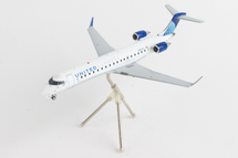 United Express / GoJet CRJ550 N504GJ (New Livery) Gemini 200 Diecast Display Model