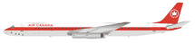 Air Canada McDonnell Douglas DC-8-63 C-FTIV With Stand
