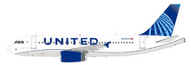 United Airlines Airbus A319-132 N876UA With Stand
