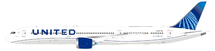 United Airlines Boeing 787-10 Dreamliner N12010 With Stand