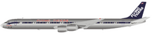 Flying Tigers DC-8-73CF N773FT Polished With Stand