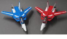 VF-1J Valkyrie Max and Miriya, Robotech, 2-Piece Set