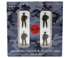 USN, 4-Piece Pilot Figure Set Alpha