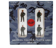 USN, 4-Piece Pilot Figure Set Bravo