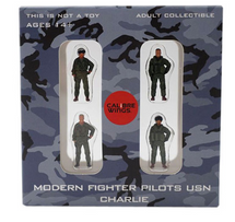 USN, 4-Piece Pilot Figure Set Charlie