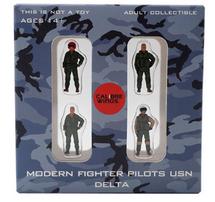 USN, 4-Piece Pilot Figure Set Delta
