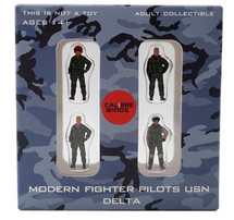 USN, 4-Piece Pilot Figure Set Delta
