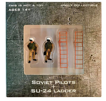 Soviet Air Force, 4-Piece Pilot and Su-24 Ladder