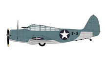TBD-1 Devastator USN VT-8, Black T-3, William Evans, USS Hornet