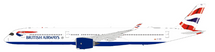 British Airways Airbus A350-1041 G-XWBD With Stand
