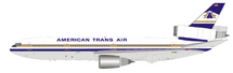 American Trans Air ATA McDonnell Douglas DC-10-40 N184AT With Stand