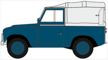 Land Rover Series II SWB Canvas Royal Air Force Police