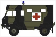 Land Rover 101 Forward Control Ambulance British Army of the Rhine, 1990