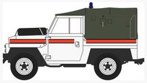 Land Rover 1/2-Ton Lightweight Canvas Royal Air Force Police, Akrotiri