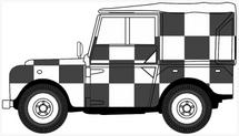 "Land Rover Series I, 80"" Canvas Desert Rescue Team, Royal Air Force, Tripoli"