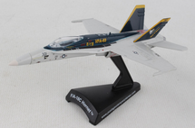 F/A-18C Hornet Diecast Model USN VFA-83 Rampagers, AG301, USS Carl Vinson